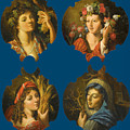 The Four Seasons by Circle of Angelo Caroselli