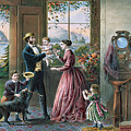 The Four Seasons Of Life  Middle Age by Currier and Ives