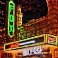 The Fox Theater Atlanta Ga. by Corky Willis Atlanta Photography
