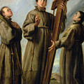 The Franciscan Martyrs In Japan by Don Juan Carreno de Miranda