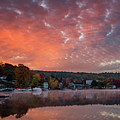 The Friendly Village Under A Colorful Sky by Darylann Leonard Photography