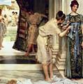 The Frigidarium by Sir Lawrence Alma-Tadema