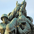 The Front Up Close -- The Iwo Jima Monument by Cora Wandel
