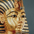 The Funerary Mask Of Tutankhamun by Unknown