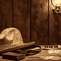 The Gambler Hat by American West Legend By Olivier Le Queinec