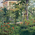 The Garden At Bellevue by Edouard Manet