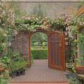 The Garden Door by Patricia Dennis