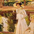 The Garden by Joaquin Sorolla y Bastida
