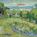 The Garden Of Daubigny by Vincent van Gogh
