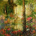 The Garden Of Enchantment by Thomas Edwin Mostyn