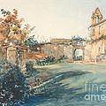 The Garden Of San Miniato Near Florence by John Ruskin