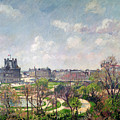 The Garden Of The Tuileries by Camille Pissarro