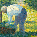 The Gardener by Georges-Pierre Seurat