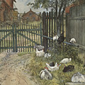 The Gate. From A Home by Carl Larsson