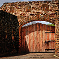 The Gate To The San Jose Mission by Gerlinde Keating - Galleria GK Keating Associates Inc