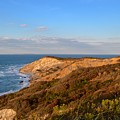 The Gay Head Cliffs In Autumn by Island Images Gallery