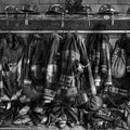 The Gear Of Heroes - Firemen - Fire Station by Lee Dos Santos