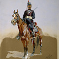 The Gendarme by Frederic Sackrider Remington