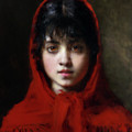The Girl In The Red Shawl by Isabella Howard