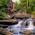 The Glade Creek Mill by Tom Mc Nemar