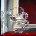 The Glass Cups by Leyla Munteanu