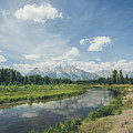 The Glorious Grand Tetons No.2 by Margaret Pitcher