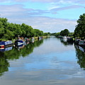 The Gloucester And Sharpness Canal by Jeff Townsend