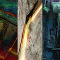The Gods Triptych 2 by Ken Walker