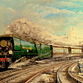 The Golden Arrow Leaves Victoria by Tony Sussex
