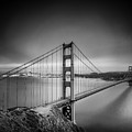 The Golden Gate Bridge by James A Crawford