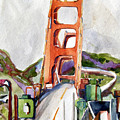 The Golden Gate Bridge San Francisco by Mindy Newman