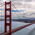 The Golden Gate Bridge - View 1 by Susan Rissi Tregoning