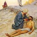 The Good Samaritan by William Henry Margetson