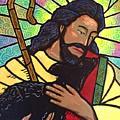 The Good Shepherd - Practice Painting Two by Jim Harris