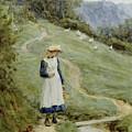 The Goose-girl  by Helen Allingham