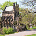 The Gothic Temple In Spring Grove Cemetery by Phyllis Taylor