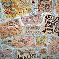 The Graceland Graffiti Wall by Christopher Miles Carter