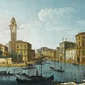 The Grand Canal At The Entrance by MotionAge Designs