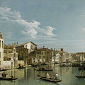 The Grand Canal In Venice From Palazzo Flangini To Campo San Marcuola by Giovanni Antonio Canal