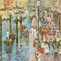 The Grand Canal Venice by Maurice Prendergast