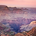 The Grand Canyon  South Rim At Dusk by Ryan Kelly