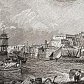 The Grand Harbour, Valetta, Malta After by Vintage Design Pics