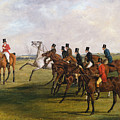 The Grand Leicestershire Steeplechase, March 12, 1829  The Start by Henry Thomas Alken