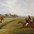 The Grand Leicestershire Steeplechase, March 12th, 1829 by Henry Thomas Alken