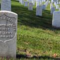 The Grave Of Martha B. Ellingsen In Arlington's Nurses Section by Cora Wandel