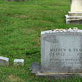 The Grave Of Mathew Brady -- Renowned Photographer Of The American Civil War by Cora Wandel