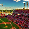 The Great American Ball Park - Cincinnati by Daniel Collins