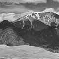 The Great Colorado Sand Dunes  125 Black And White by James BO  Insogna