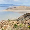 The Great Salt Lake 3 by Tonya Hance