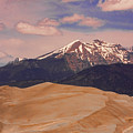 The Great Sand Dunes And Sangre De Cristo Mountains by James BO  Insogna
